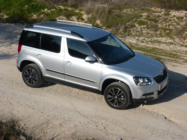 skoda yeti outdoor 2 0 tdi cr 110 cv ambition a qui n no le gustan los. Black Bedroom Furniture Sets. Home Design Ideas