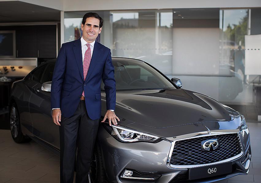 Antonio Muñoz de Verger, nuevo nombramiento en Infiniti