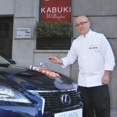 Lexus y Kabuki compañeros de viaje