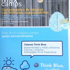 Volkswagen presenta los Think Blue Workshops