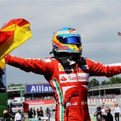 "Fernando Alonso gana en ""casa"""
