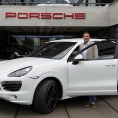 Porsche Cayenne número 500.000