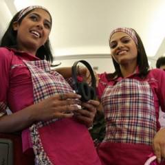 Estar delgada, un mérito más para ser azafata… en la India