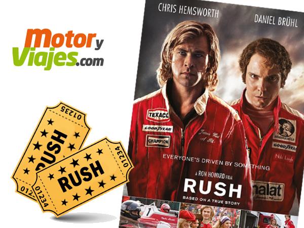 Ganadores de la PROMO-RUSH de MotoryViajes en Facebook