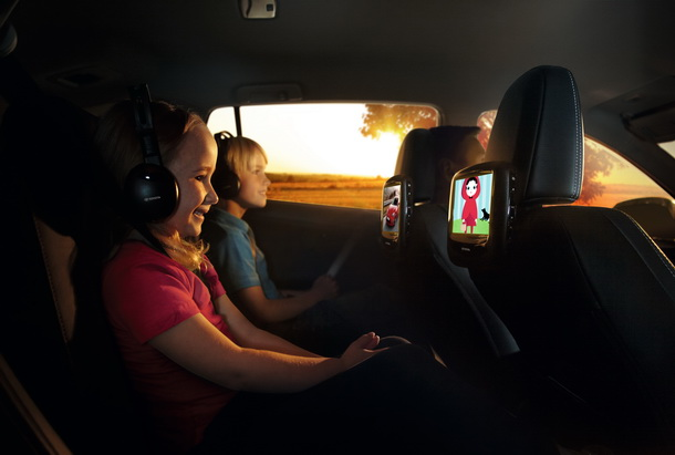 Sistema de entretenimiento de Toyota