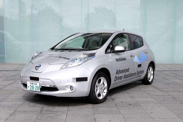 Nissan Leaf con Sistema de Asistencia al Conductor