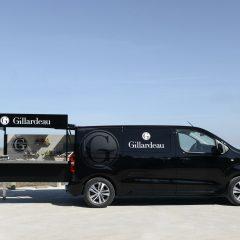 Peugeot diseña un 'foodtruck' para la marca de ostras Gillardeau