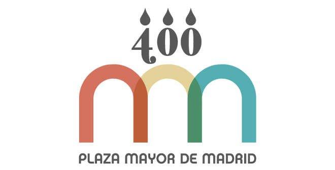 Logo del IV Centenario de la Plaza Mayor de Madrid