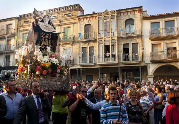 Fiestas de Santa Teresa en Alba de Tormes