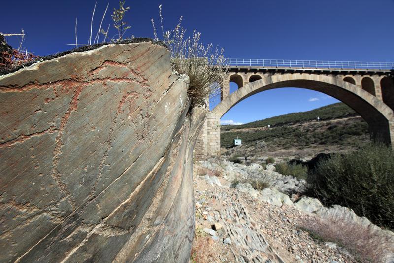 Yacimiento paleolítico de Siega Verde, en la provincia de Salamanca