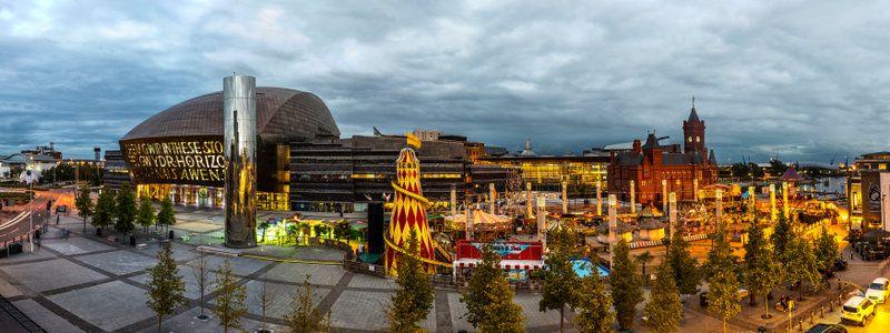 Cardiff es una ciudad moderna y llena de vida