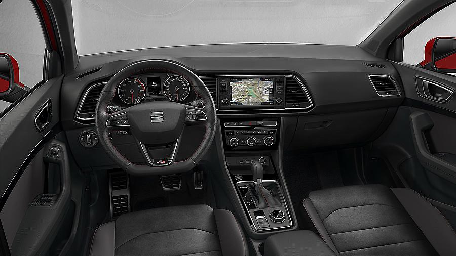 Seat Ateca FR, un SUV de imagen deportiva y dinámica