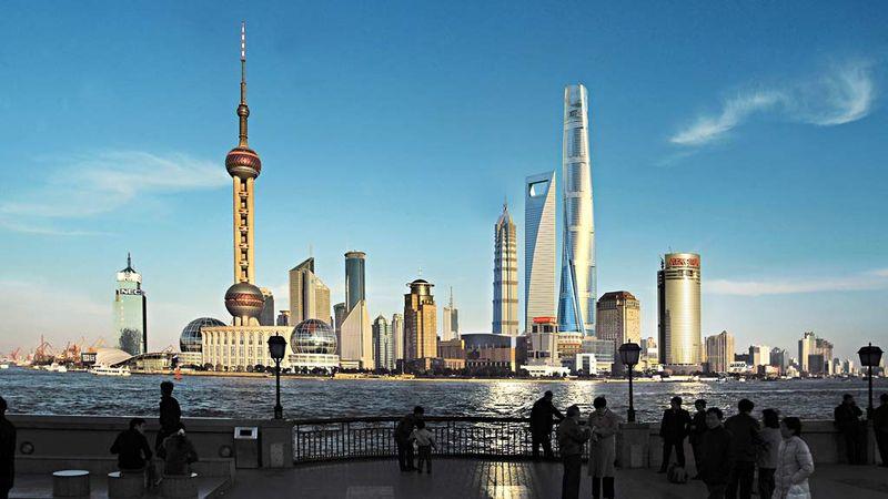 La Torre de Shanghái se alza en el corazón del distrito financiaero. Foto: EFE
