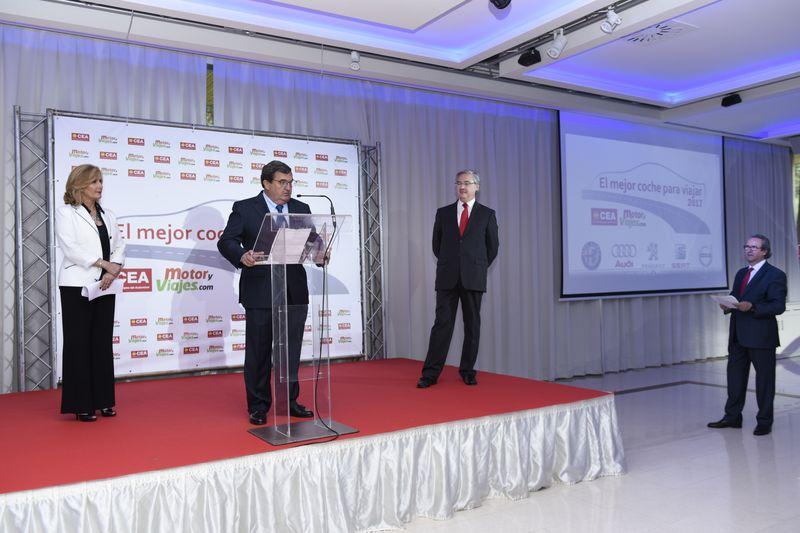 Ignacio de Lucas, Editor de MotoryViajes.com, en el momento de su intervención