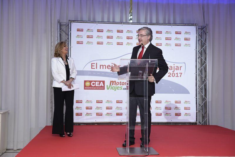 El Presidente de CEA, Rafael Fernández-Chillón