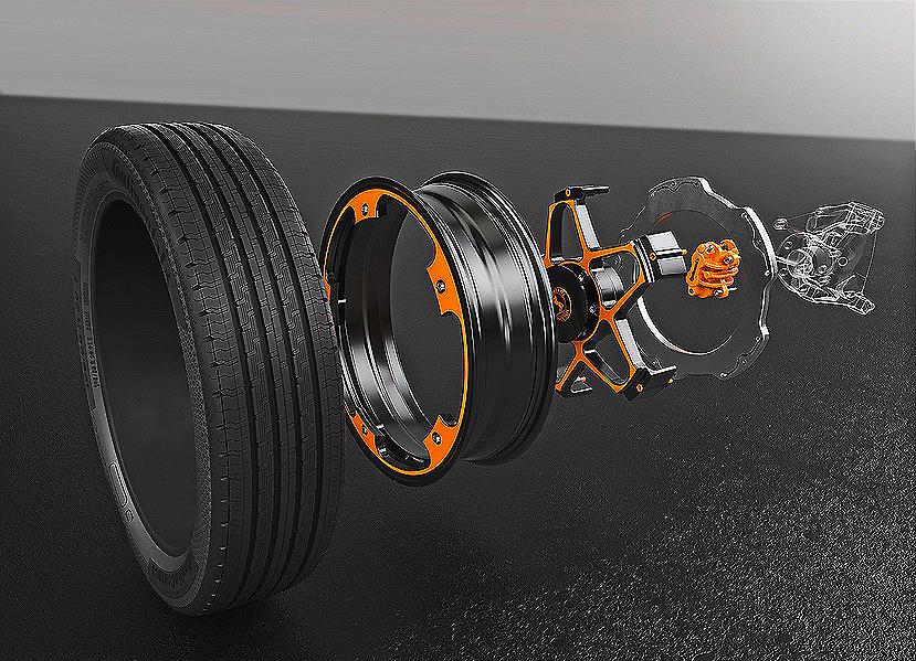 Continental presenta el innovador concepto de frenos para vehículos eléctricos