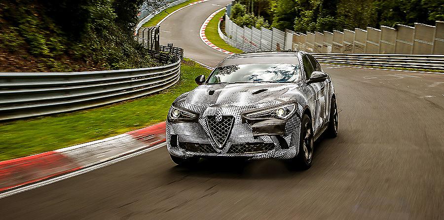El Alfa Romeo Stelvio obtiene el récord de vuelta en Nürburgring