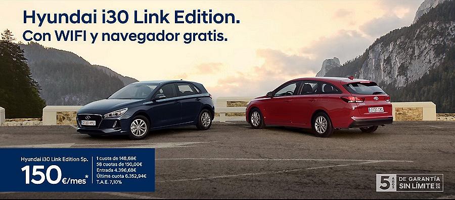 Nuevo Hyundai i30 Serie Especial Link Edition desde 21.675 euros