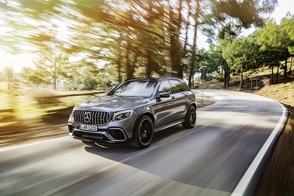 Mercedes GLC 63 AMG 4Matic y GLC 63 S AMG 4 Matic en versiones SUV y Coupe