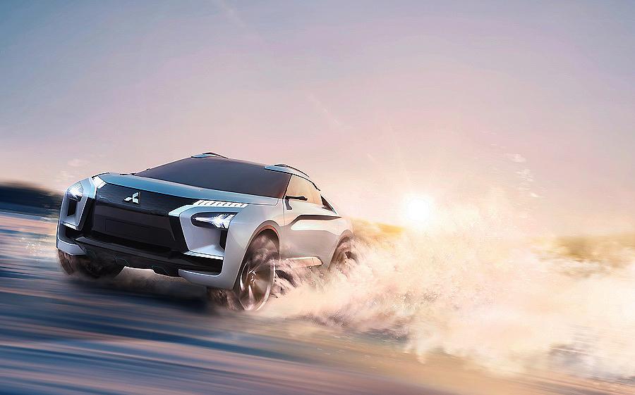 Mitsubishi e-Evolution Concept, el SUV Premium totalmente eléctrico