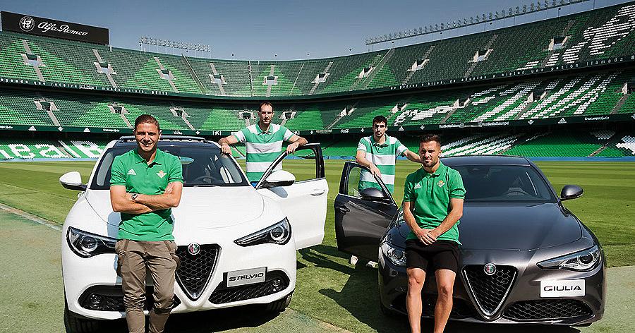Alfa Romeo, nuevo Vehículo Oficial del Real Betis
