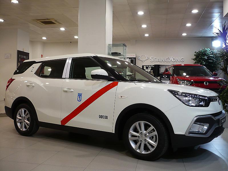 SsangYong presenta su Taxi XLV propulsado por GLP (Gas Licuado de Petróleo)