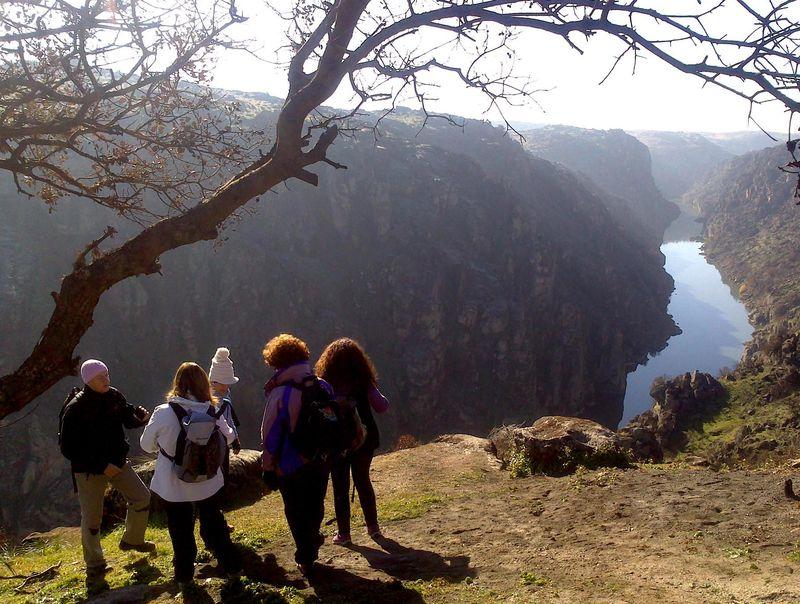 Los Arribes del Duero forman una frontera natural entre España y Portugal