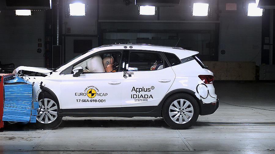 El nuevo SUV compacto Seat Arona consigue las 5 estrellas Euro NCAP