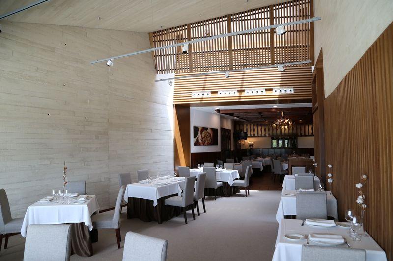 Comedor del Restaurante Rivas, en Vega de Tirados. Foto: Restaurante Rivas