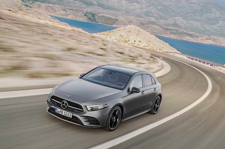 La marca de la estrella da a conocer las primeras imágenes del nuevo Mercedes Clase A