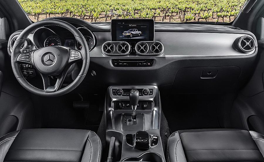 Mercedes Clase X, coche oficial para el Titan Desert by Garmin