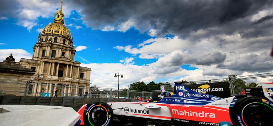Puntos para Mahindra Racing en París