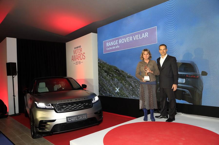 Range Rover Velar elegido coche del año por Shchibsted Motor Awards de Coches.net