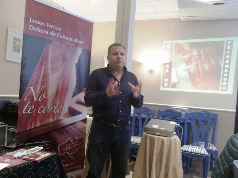 Álvaro Rivas, Director Técnico de la D. O. Dehesa Extremeña