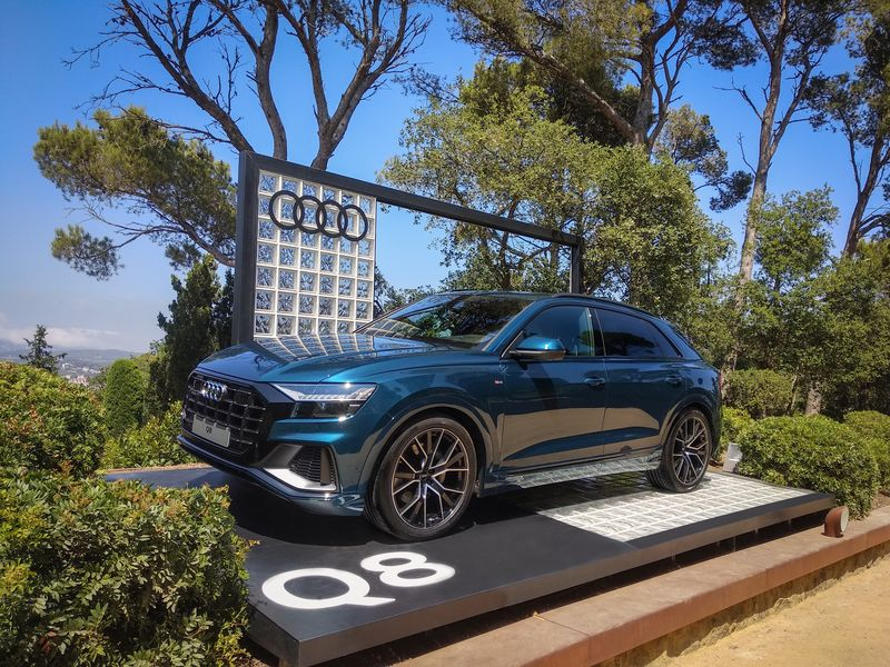 El nuevo Audi Q8 en Cap Roig