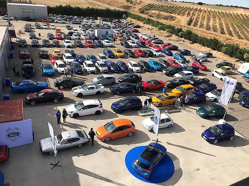 VIII Ford Fans Only: Reunión de Clubes Ford de España