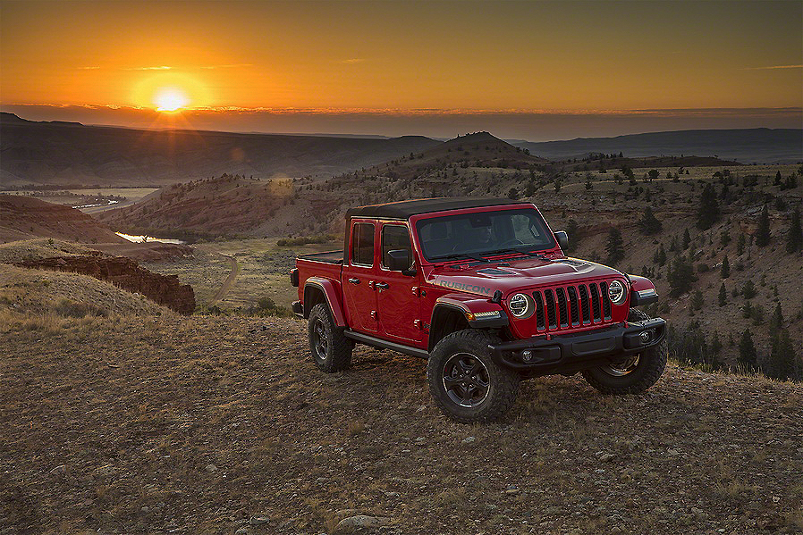 Nuevo Jeep Gladiator, el pick-up de aventura total
