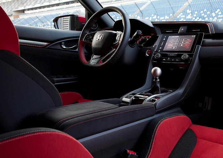 """Honda Civic Type R: """"DE CARRERAS""""... así en MAYÚSCULAS"""