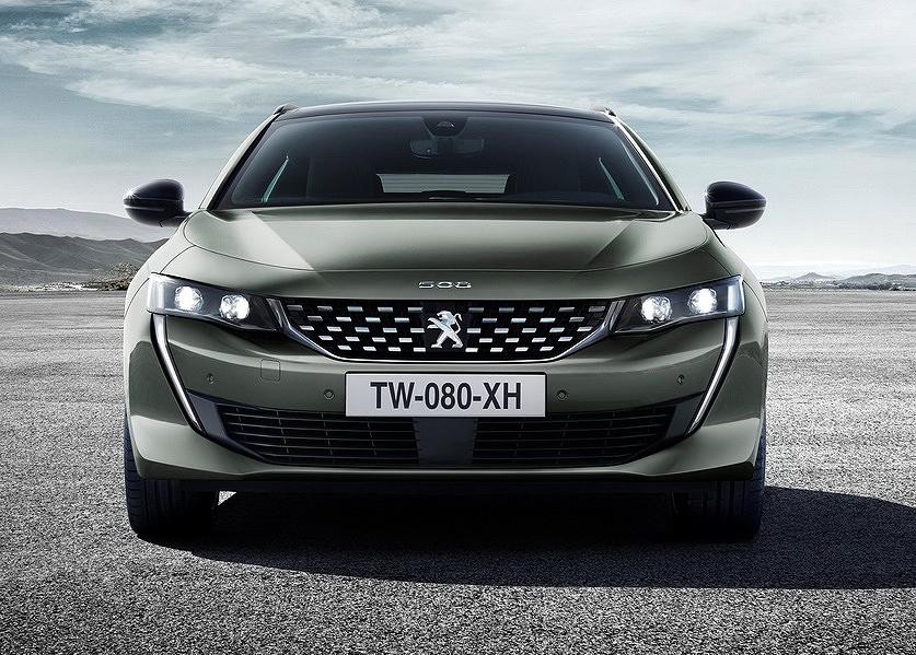Peugeot 508 SW, elegancia y capacidad con la versión familiar