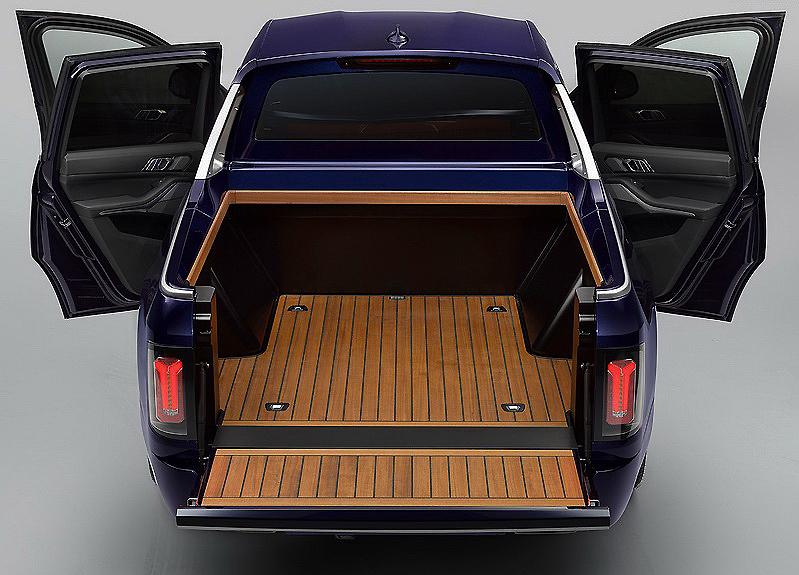 BMW X7 Pick Up, o como combimar lujo con funcionalidad