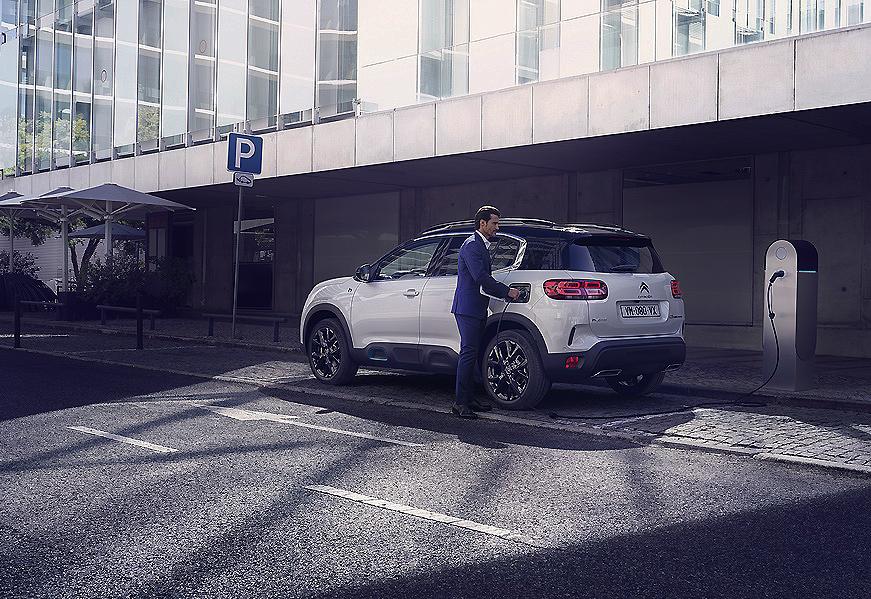 "Nuevo Citroën C5 Aircross Hybrid, el SUV Premium se ""enchufa"""
