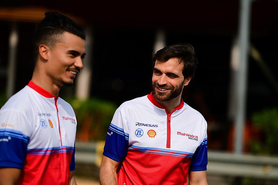 Mahindra Racing listo para la carrerra de México