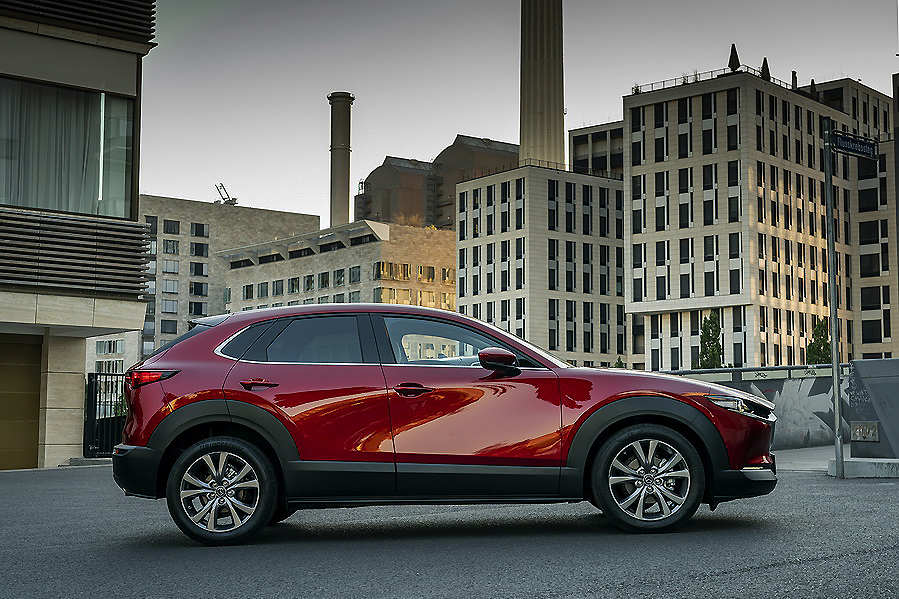 Prueba Mazda CX30 2.0 SKYACTIV-G 2.0 122 cv, un SUV equilibrado y eficiente