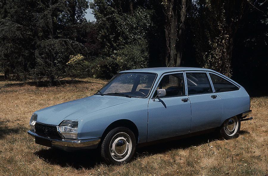 """El Citroën GS cumple sus """"bodas de oro""""; 50 años de historia"""