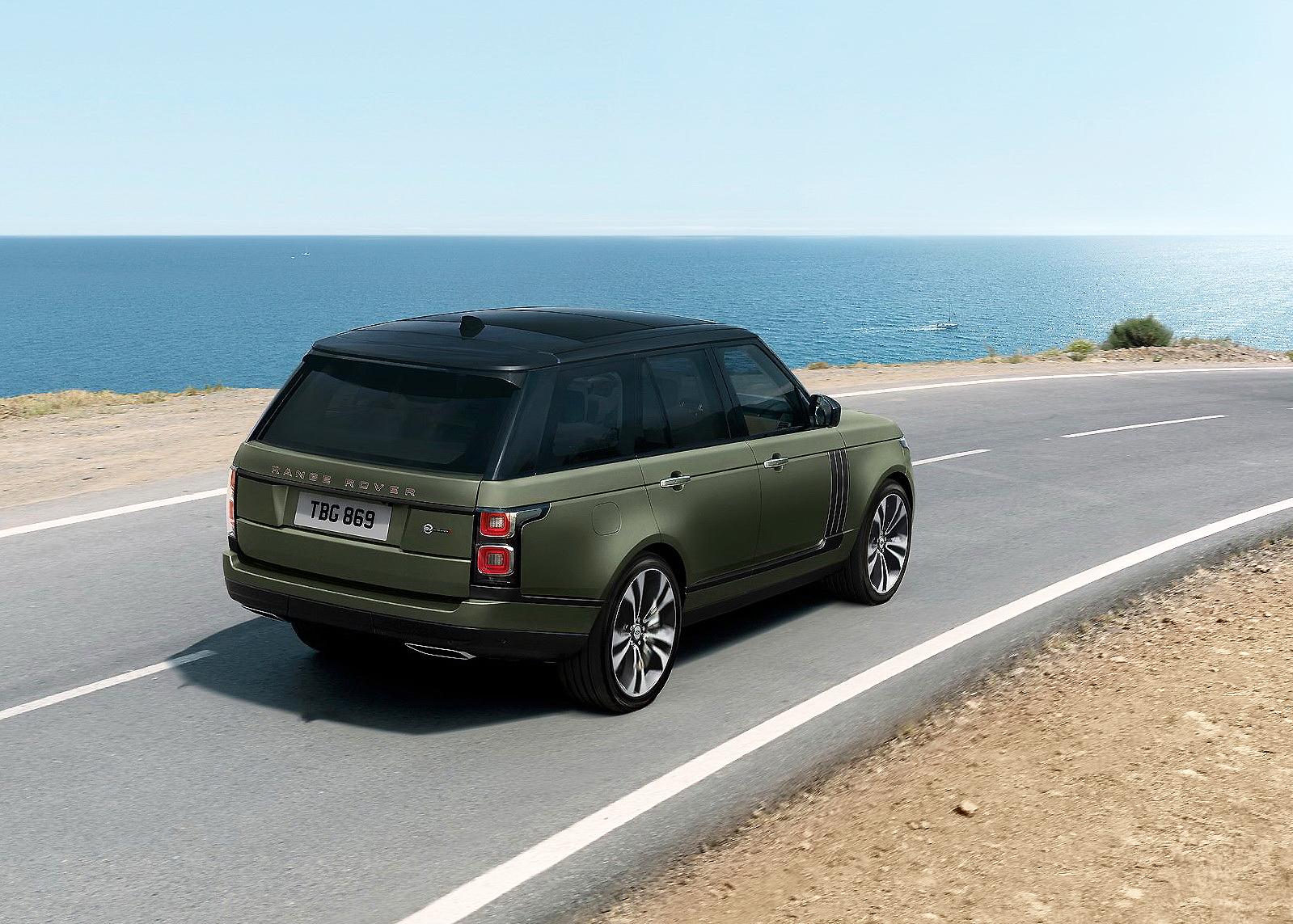 Las nuevas ediciones Ultimate del Range Rover SVAutobiography. Lujo siete estrellas