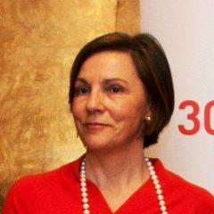 Ana Larrañaga, Directora de Fitur, en la fiesta del queso de Ideazábal