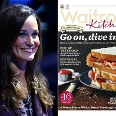 Pippa Middleton nueva columnista de gastronomía