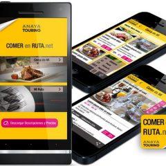 Nace una nueva aplicación para descubrir restaurantes en ruta