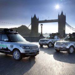 Range Rover híbridos en la Ruta de la Seda