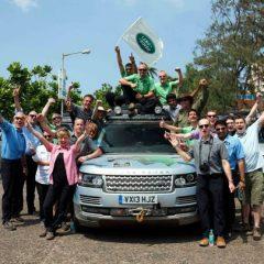 Range Rover híbridos en la Ruta de la Seda (y VI)